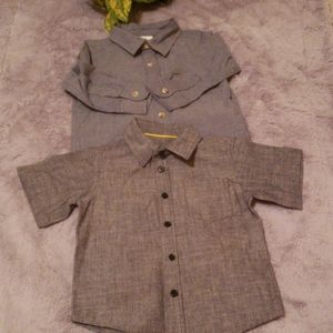 2 for 20$ 18-24 mboys botton down shirts